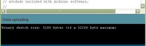 caricamento ArduinoISP ultimato