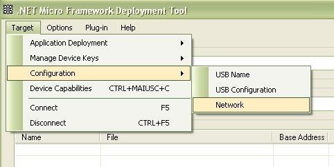 Seleziona configurazione di rete