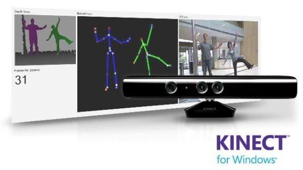 Microsoft Kinect per pc