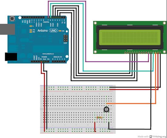 Gestione Arduino display 20x4