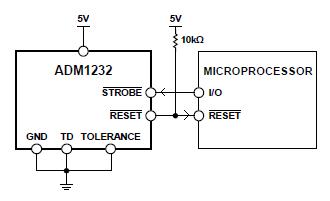 ADM1232 Supervisor Circuit