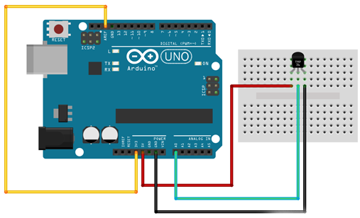 Arduino tutorial pin AREF