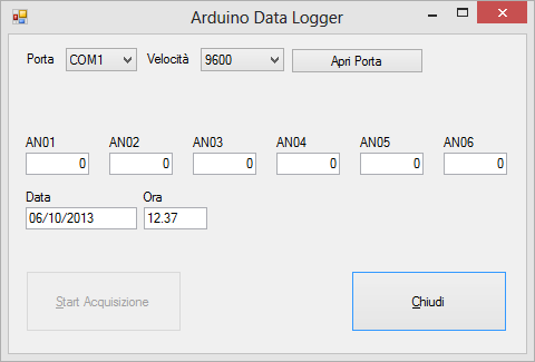 Arduino datalogger