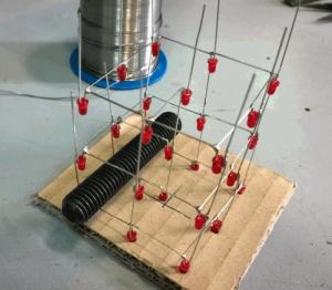 Assemblare led cube 3x3x3