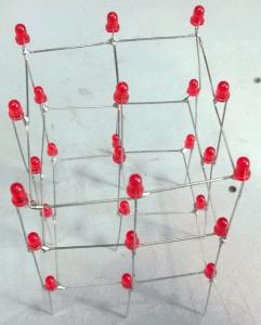 Cubo led 3x3x3