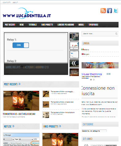 Luca Dentella Blog