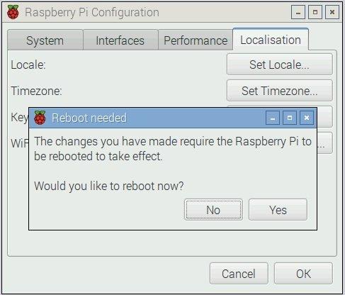 Raspberry PI reboot
