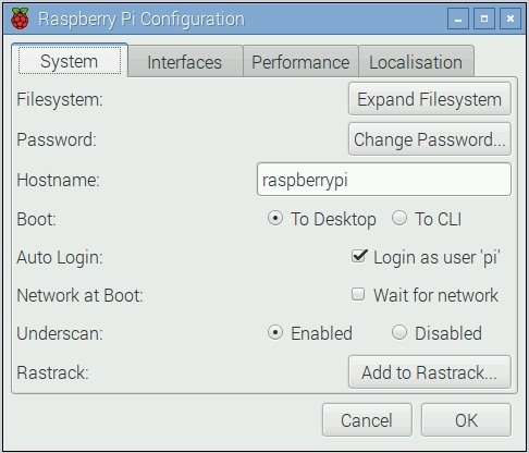 raspberry expand file system