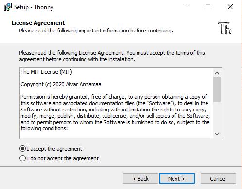 contratto thonny