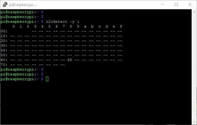 programma i2cdetect
